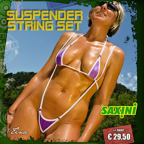 Suspender String Set